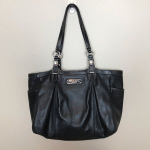 Coach Gallery Tote F15147 Black
